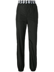 Versus Shell Track Pants Polyester Black