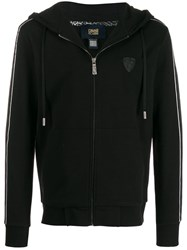 Class Roberto Cavalli Hooded Sweatshirt Black