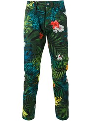 G Star Floral Print Trousers