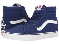 Vans Sk8 Hi Mlb Los Angeles Dodgers Blue Skate Shoes