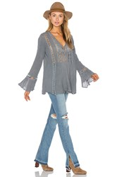 Jens Pirate Booty Lakeview Tunic Top Gray