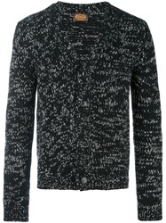 Tod's V Neck Cardigan Black