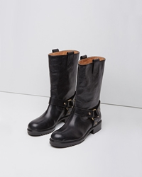 Marc Jacobs Motorcycle Boot Black