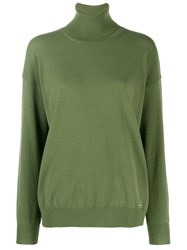 Dsquared2 Roll Neck Sweater Green