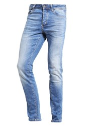 Pier One Slim Fit Jeans Light Blue