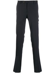 Pt01 Slim Tailored Trousers Blue