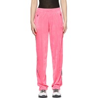 Opening Ceremony Pink Velour Track Pants