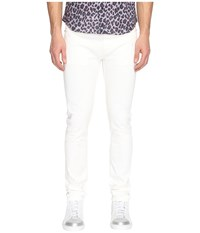 Marc Jacobs Skinny Leg White On White Jeans White Men's Jeans
