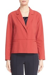 Lafayette 148 New York Women's 'Frankie' Blazer Red Rock