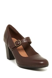 Clarks Brynn Posey Mary Jane Pump Wide Width Available Brown