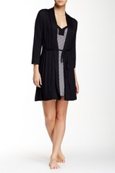 Tart Lucy Chemise And Robe Black