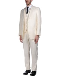 Pal Zileri Cerimonia Suits Ivory