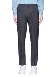 Acne Studios 'Boden T' Wool Suiting Pants Grey