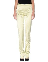 Galliano Trousers Casual Trousers Women Acid Green