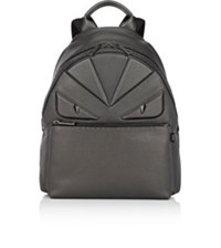 Fendi Men's Buggies Selleria Backpack Silver