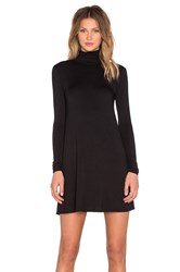 Lamade Penny Turtleneck Dress Black