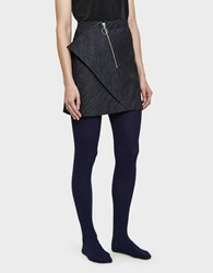 Hansel From Basel Cashmere Tights In Navy