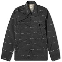Fear Of God Printed Field Jacket Black