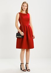 Chi Chi London Noe Cocktail Dress Party Dress Red