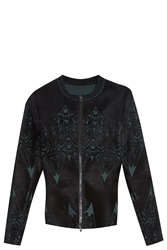 Alaia Tattoo Cardigan Black