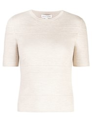 722a7b8dd0a Narciso Rodriguez X The Conservatory Knit Top Neutrals