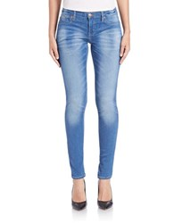Dittos Jenn Antique Wash Jeggings Blue