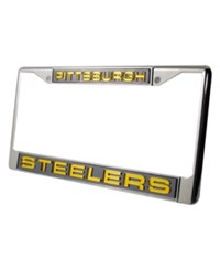 Rico Industries Pittsburgh Steelers License Plate Frame Team Color