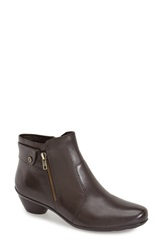 Naturalizer 'Haley' Ankle Bootie Women Oxford Brown