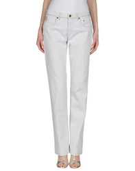 Tru Trussardi Trousers Casual Trousers Women White