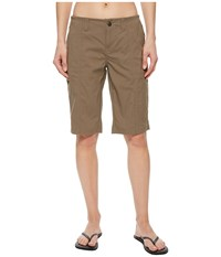 Royal Robbins Discovery Bermuda Falcon Shorts Tan