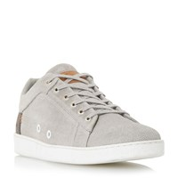 Dune Tidal Suede Trainers Grey