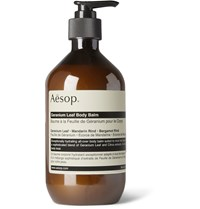 Aesop Geranium Leaf Body Balm 500Ml Green