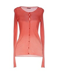 Atos Lombardini Knitwear Cardigans Women Coral