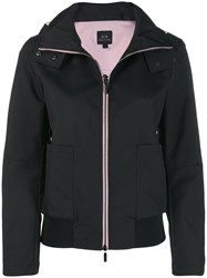 Armani Exchange Structured Sports Jacket Black