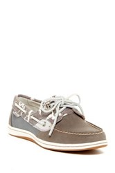Sperry Koifish Seagulls Boat Shoe Gray