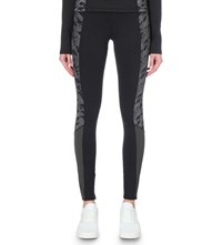 Sweaty Betty Reflective Thermodynamic Stretch Run Leggings Cabana Print