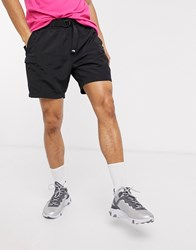 The North Face Class V Belted Shorts In Black