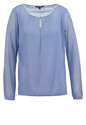 Comma Long Sleeved Top Blue Light Blue