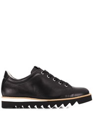 Hogl Lace Up Wedge Shoes Black