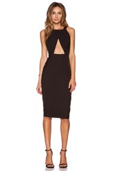 Aq Aq Killer Midi Dress Black