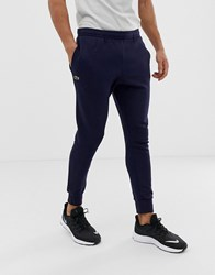 Lacoste Sport Slim Fit Logo Sweat Joggers In Navy