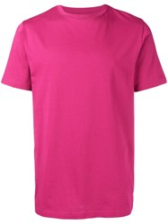 Natural Selection Round Neck T Shirt Pink