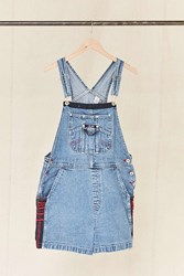Urban Renewal Vintage B.U.M. Equipment Embroidered Denim Overall Short Assorted
