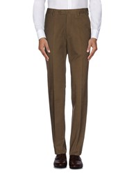 Luigi Borrelli Napoli Trousers Casual Trousers Men Military Green