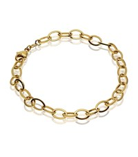 Theo Fennell Yellow Gold Outline Link Bracelet Female