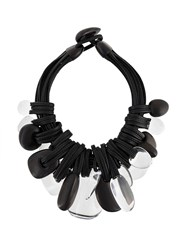 Monies Chunky Necklace Black