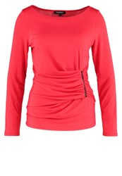 Morgan Long Sleeved Top Rouge Red