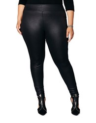 Mblm By Tess Holiday Plus Ultra Stretch Scuba Leggings Black
