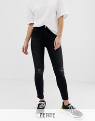 New Look Petite Skinny Jeans In Black