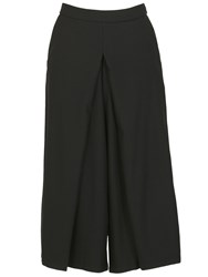 Izabel London Midi Length Culotte Trousers Black